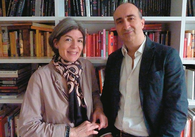 Claire Messud and James Wood