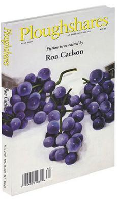 A journal cover of three bunches of purple grapes on a plain white background