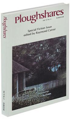 A journal cove with a photograph of a house with a white picket fence and trees