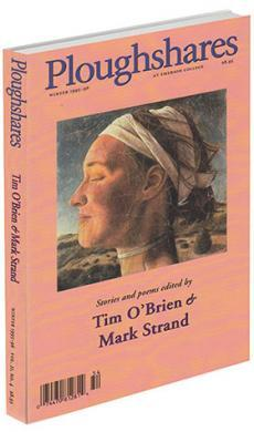 A journal cover of artwork of a woman's head with white cloth wrapped around her head and hair