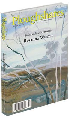 A journal cover of artwork of tree branches across a marsh-like background