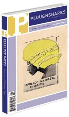 A journal cover with collage artwork of a person with yellow afro-like hair