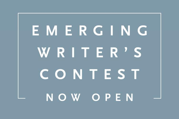 Emerging Writer's Contest Now Open