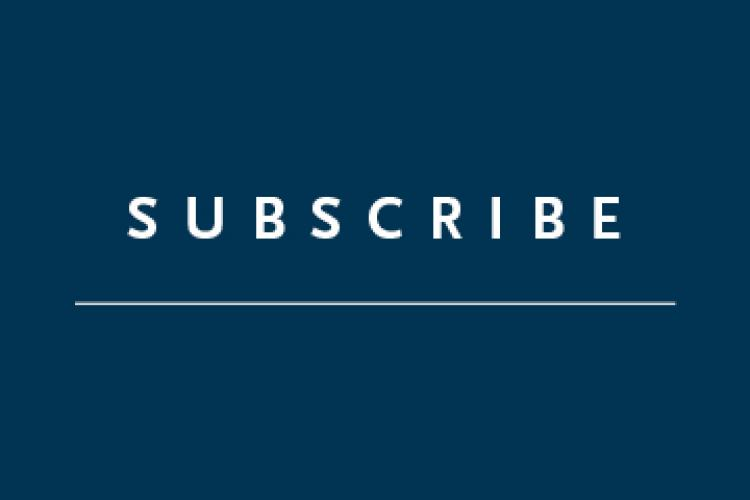 "Blue square with the text ""Subscribe"""