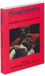 A red journal cover with a painting of two people hugging