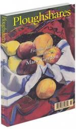 A journal cover with a painting of a napkin full of apples